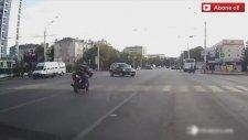 Dehşet Verici Motosiklet Kazaları