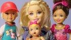 3 Çocuklu Barbie evcilik oyunu - Evcilik TV