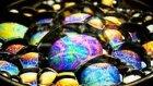 Sabun Köpüğünün Makro Çekim ile Büyüleyici Rengarenk Görüntüsü