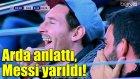 Arda Turan, Messi'yi Kahkahaya Boğdu!