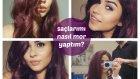 Vlog || Nee Saçlarımı mor-violet (menekşe/eflatun) mi yaptım?