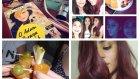 Vlog || renk yenileme(violet) , alışveriş, kızlar gecesi, pelin mi geldi?