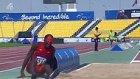 Gözleri Görmeyen Uzun Atlama Yapan Atletin Talihsiz Anı