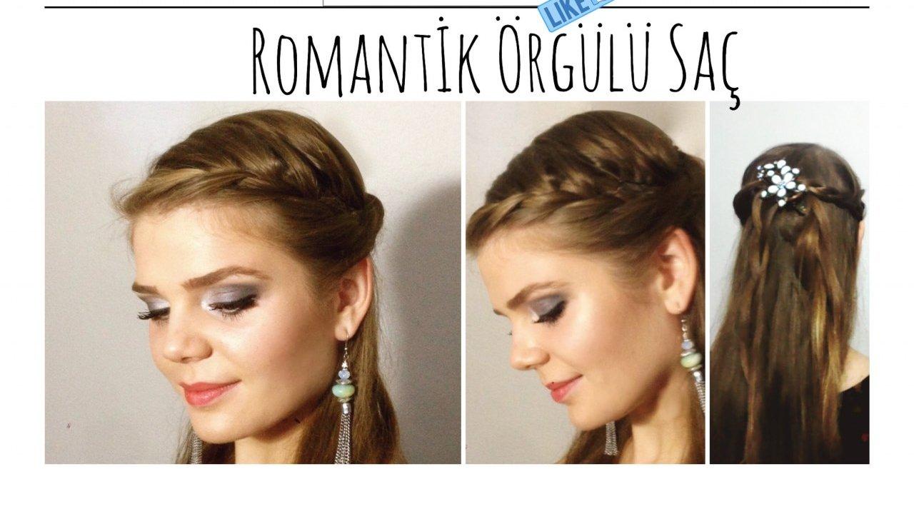 Yaz Mevsimi İçin Romantik Saç Modelleri