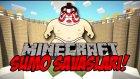 SUMO GÜREŞİİİİ! - Sumolar Savaşıyor! - Minecraft #1