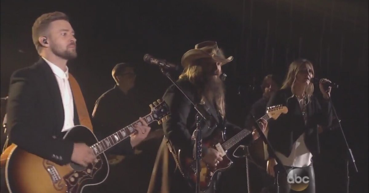 chris stapleton justin timberlake tennessee whiskey