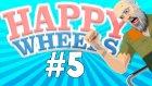 HİÇBİR ŞEY BİLMEDEN SINAVLARI GEÇMEK ! - Happy Wheels - #5