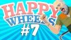 KAFAMLA ŞİŞEDE KOŞTUM !? - Happy Wheels - #7