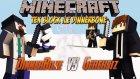 Tek Blok ile Dinner Bone Çağırmak! Dinnerbone vs Herobrine - Modsuz [Vanilla] - Minecraft