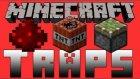 TEK BLOK İLE TEHLİKELİ TUZAKLAR(TRAPS) HAZIRLA! Modsuz [Vanilla] - Minecraft