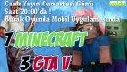 3 GTA V   7 MINECRAFT ÇEKİLİŞİ ! Canlı Yayın Cumartesi !