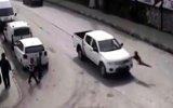 Çocukların Arabaların Önüne Atladığı Bitlis Mobese Trafik Kazaları