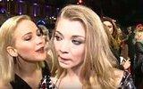 Jennifer Lawrence'dan Natalie Dormer'un Dudaklarına Öpücük