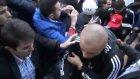 Beşiktaş'a Bursa'da meşaleli karşılama