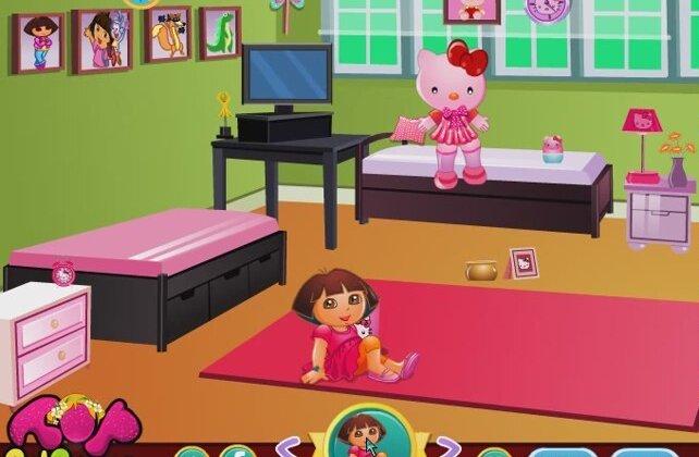 Dora The Explorer Online Games Dora 39 S Hello Kitty Room Decor Dora Game Movies