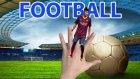 Football Messi Ronaldo, Finger Family Song | Finger Family Song & English Children's Songs