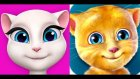 My Talking Angela and Ginger | Itsy Bitsy Spider & English Children's Songs