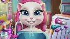 My Talking Angela Real Dentist &  Online Baby Games - Talking Angela Game Movies