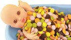 Oyuncak Bebek Şeker Banyosu Baby Doll Candy Bath