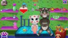 Daddy Talking Tom And Kid Care | Game Movies