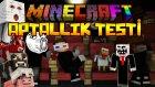 Minecraft - APTALLIK TESTİ! (Idiot Test) (Özel Harita)