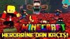 Minecraft - HEROBRINE'DAN KAÇIŞ! : KORKUNÇ PARKUR! (Özel Harita)