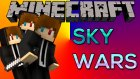 AYNI TAYFA İLE AKIYOZ :D - Sky Wars #5 w/Ahmet Aga,TTO - Minecraft