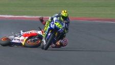 MotoGP'de son yarış nefes kesti