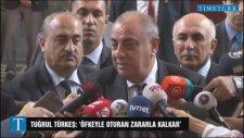 Türkeş: Öfkeyle Kalkan Zararla Oturur