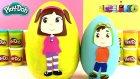 Leliko ve Liko Oyun Hamuru 2 DEV Sürpriz Yumurta Açma LPS Pepee MLP Oyuncakları