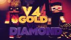 Minecraft:Gold vs Diamond Race V4 - w/Ahmet Aga 'Dostluk Kazandı'
