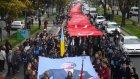 Ata'ya Saygı Yürüyüşünde 1001 Metrelik Türk Bayrağı