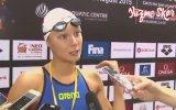 Gençler Dünya Yüzme Şampiyonu  Viktoria Zeynep Güneş