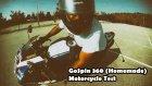 GoPro GoSpin ( homemade )360 Motorcycle Test
