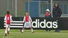 Ufaklıkların Ronaldo Aşkı! Ajax Altyapısının Gençlerinden Tanıdık Gol Sevinci