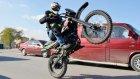 Trafikte Tehlikeli Akrobasi