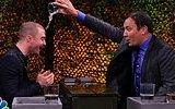 Jimmy Fallon ve Daniel Radcliffe'den Eğlenceli Kağıt Oyunu
