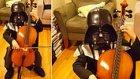 Sith Lord'un Müziğini Çello İle Çalan 7 Yaşındaki Minik Darth Vader