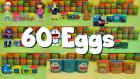 60 Play Doh Sürpriz Yumurta Açımı İtfaiyeci Sam Tayo Otobüs Tomas Paw Patrol Minecraft Dora Scooby
