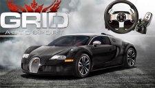 Direksiyon Seti ile Grid Autosport // Bugatti Veyron[Sokak Yarışları]