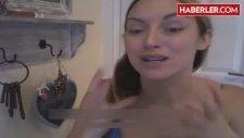 Çılgın kadın Güzelleşmek İçin Yüzüne Sperm Sürüyor