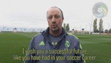 Real kadrosundan Raul'e mesaj!