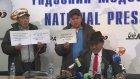Basın Toplantısında Kendisini Yakan Moğol Vatandaşı