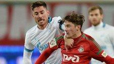 Lokomotiv Zenit'i rahat geçti