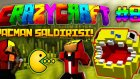 Minecraft - Çılgın Modlarla Survival! (Crazy Craft) - PACMAN SALDIRISI!!  : Bölüm 8