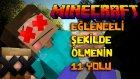 Minecraft'ta EĞLENCELİ ŞEKİLDE ÖLMENİN 11 YOLU! (Özel Harita)
