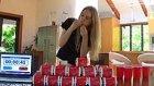 1 Saatten Kısa Sürede 22 Hamburger Yiyen Dünya Rekortmeni Kız