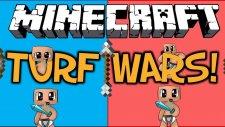 Minecraft - Turf Wars - Bölüm 1 [ Benim salyam daha güzel :D ] [w/Amaçsızİnsan