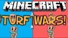 Minecraft - Turf Wars - Bölüm 2 [ Saklanbaç :D ] [w/Amaçsızİnsan]