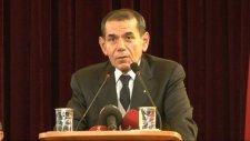 Dursun Özbek olağanüstü genel kurulda konuştu